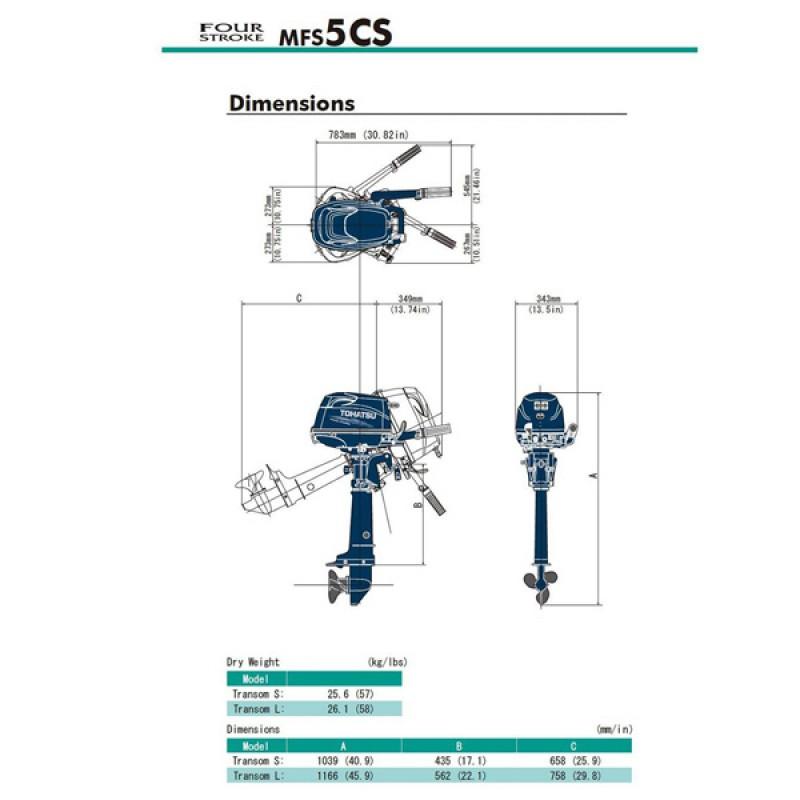 Tohatsu MFS5CS