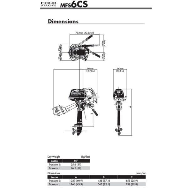 Tohatsu MFS6CS