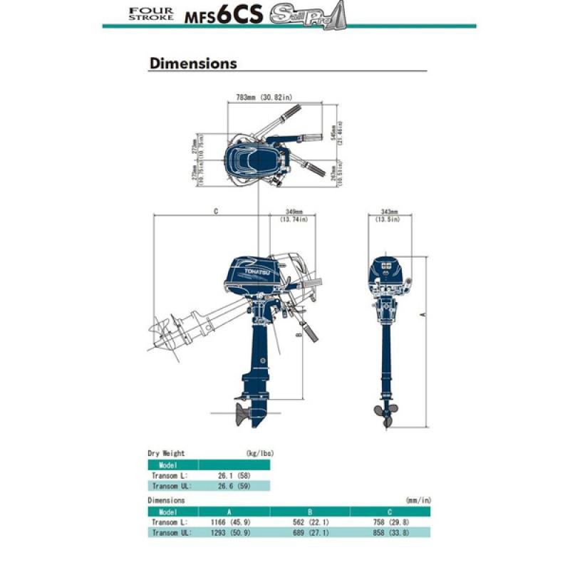 Tohatsu MFS6CSL SP1
